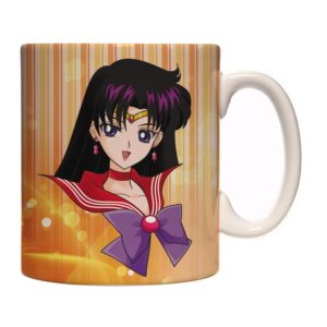 Caneca Exclusiva – Sailor Moon – Sailor Mars