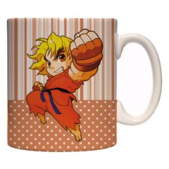 Caneca Exclusiva – Pocket Fighter – Ken