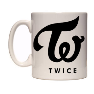 Caneca Exclusiva – K-Pop – Twice Black