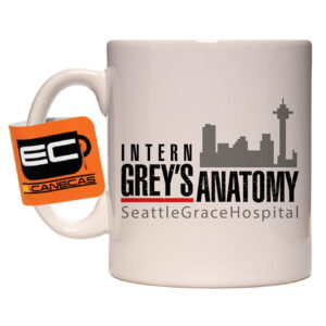 Caneca Exclusiva – Grey's Anatomy – Seattle Grace Hospital