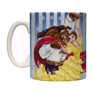 Caneca Exclusiva – A Bela e a Fera – Blue