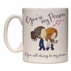 Ceneca Exclusiva – Grey's Anatomy – You Are My Person
