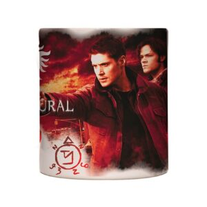Caneca Exclusiva – Supernatural – Inferno Fire