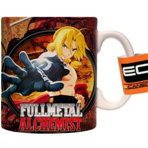 Caneca Exclusiva – Full Metal Alchemist – Edward  & Alphonse