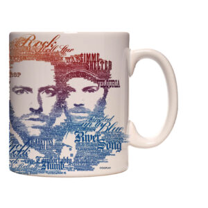 Caneca Exclusiva – Coldplay – Letters