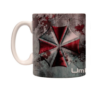 Caneca Exclusiva – Resident Evil – Umbrella Corporation