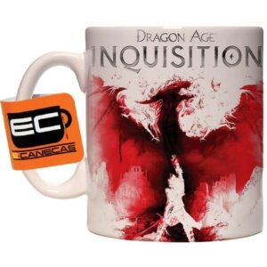 Caneca Exclusiva – Dragon Age Inquisition -Bloody Dragon