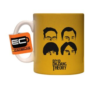 Caneca Exclusiva – The Big Bang Theory – Faces