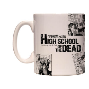 Caneca Exclusiva – Highschool of the Dead – Mangá