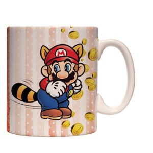 Caneca Exclusiva – Mario Bros – Mario