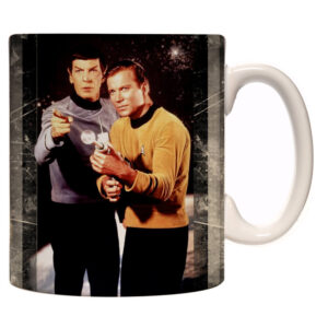 Caneca Exclusiva – Star Trek – Kirk e Spock