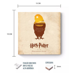 Placa Decorativa – Harry Potter – Pedra Filosofal