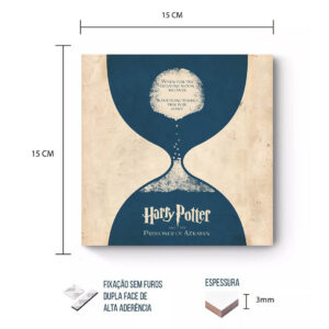 Placa Decorativa – Harry potter – Prisioneiro de Azkaban II