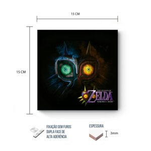 Placa Decorativa – Zelda – Majora's Mask