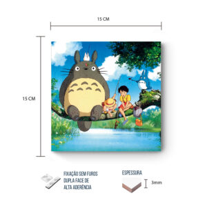 Placa Decorativa – Meu Vizinho Totoro – Fishing