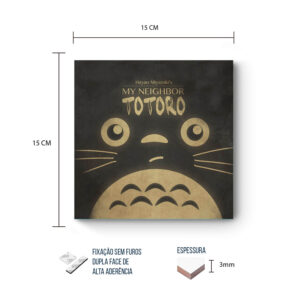 Placa Decorativa – Meu Vizinho Totoro – Neighbor
