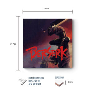 Placa Decorativa – Berzerk – Warrior
