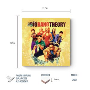 Placa Decorativa Big Bang Theory – Characters
