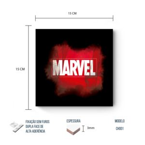 Placa Decorativa – Marvel