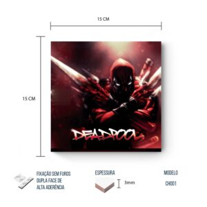 Placa Decorativa – Marvel – Deadpool 2