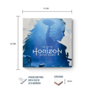 Placa Decorativa – Horizon – Blue