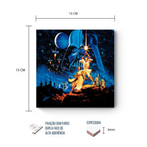 Placa Decorativa – Star Wars – Vintage